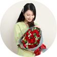 送女友鲜花